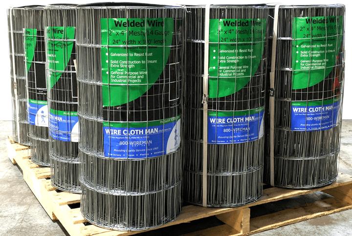Galvanized Steel Welded Wire on Pallet