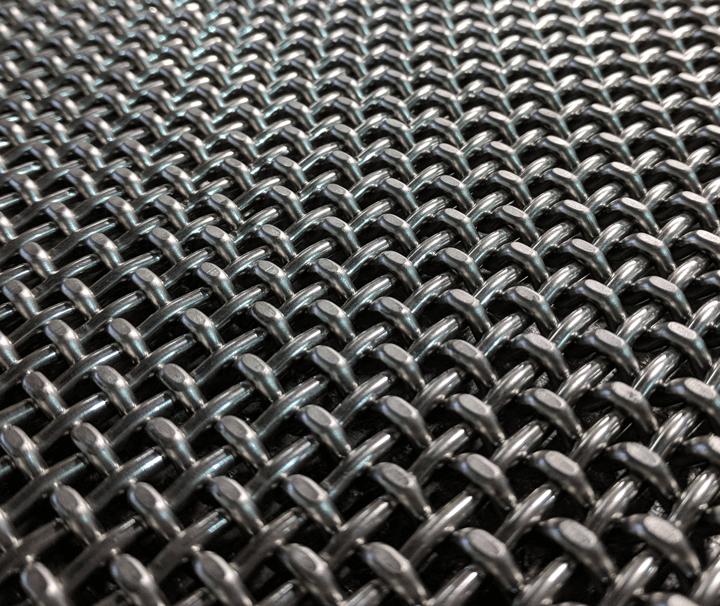 Plain Steel Carbon Steel Wire Mesh-2