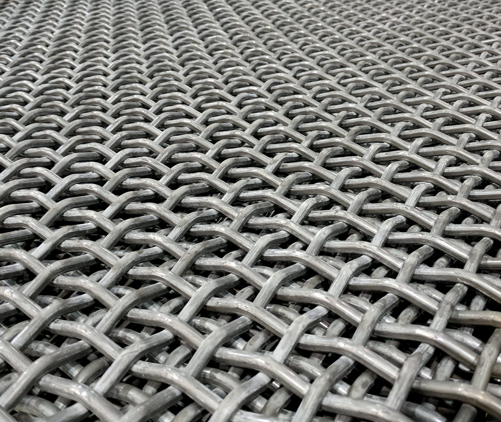 Plain Steel Carbon Steel Wire Mesh