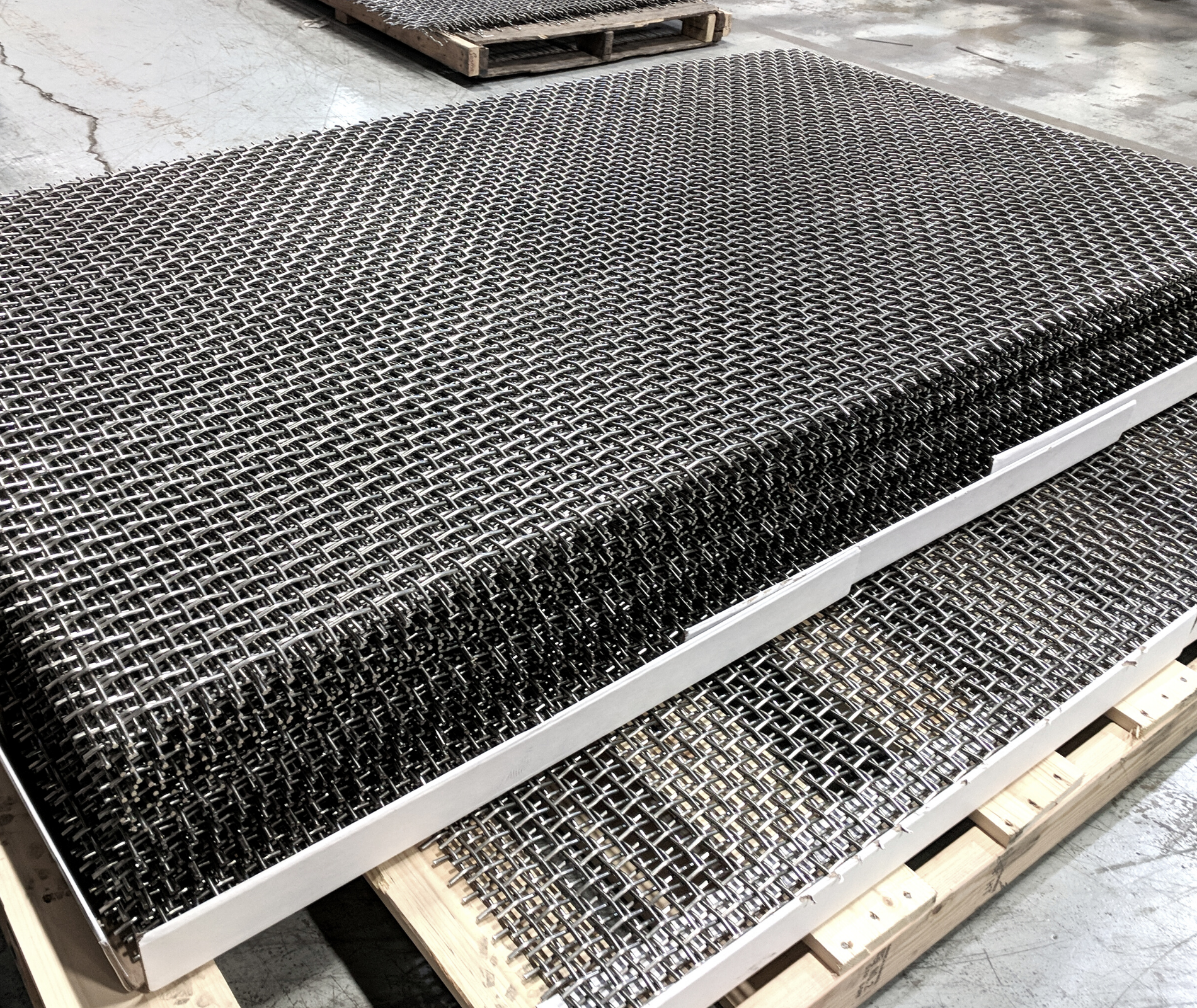 Woven Wire Mesh Stack