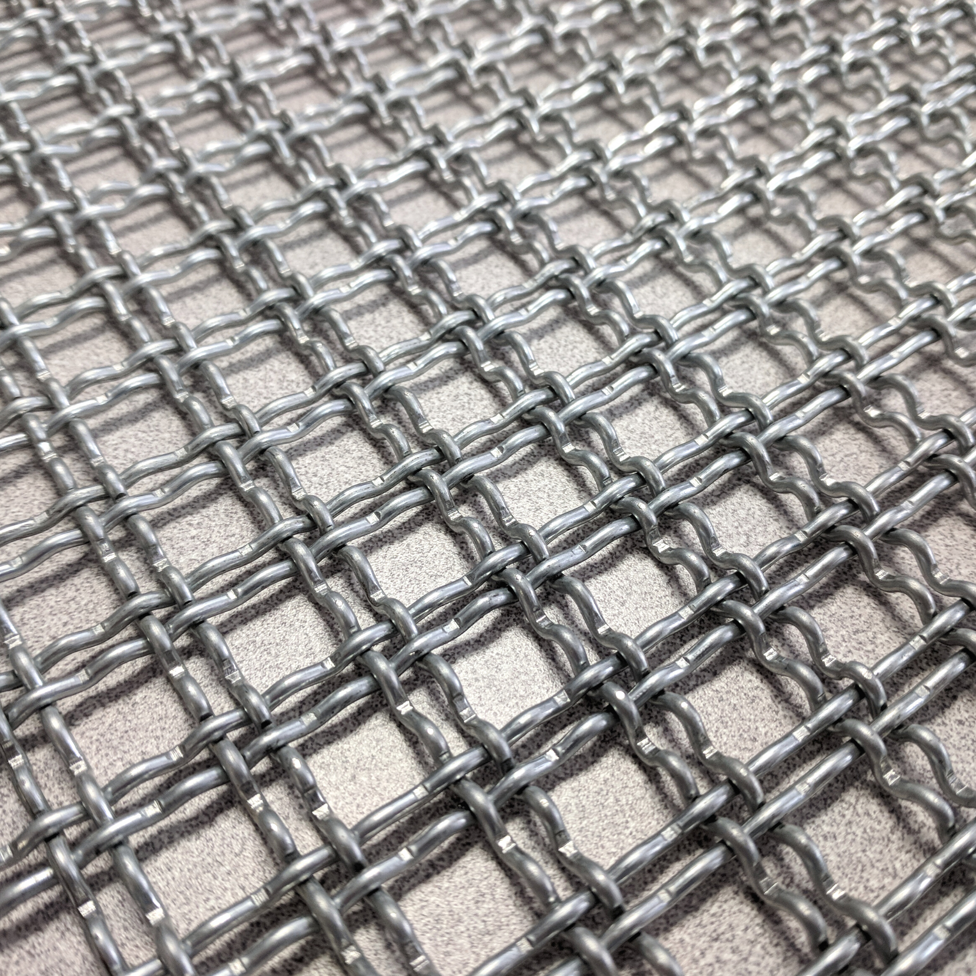 Stainless Steel Decorative Mesh Close Up