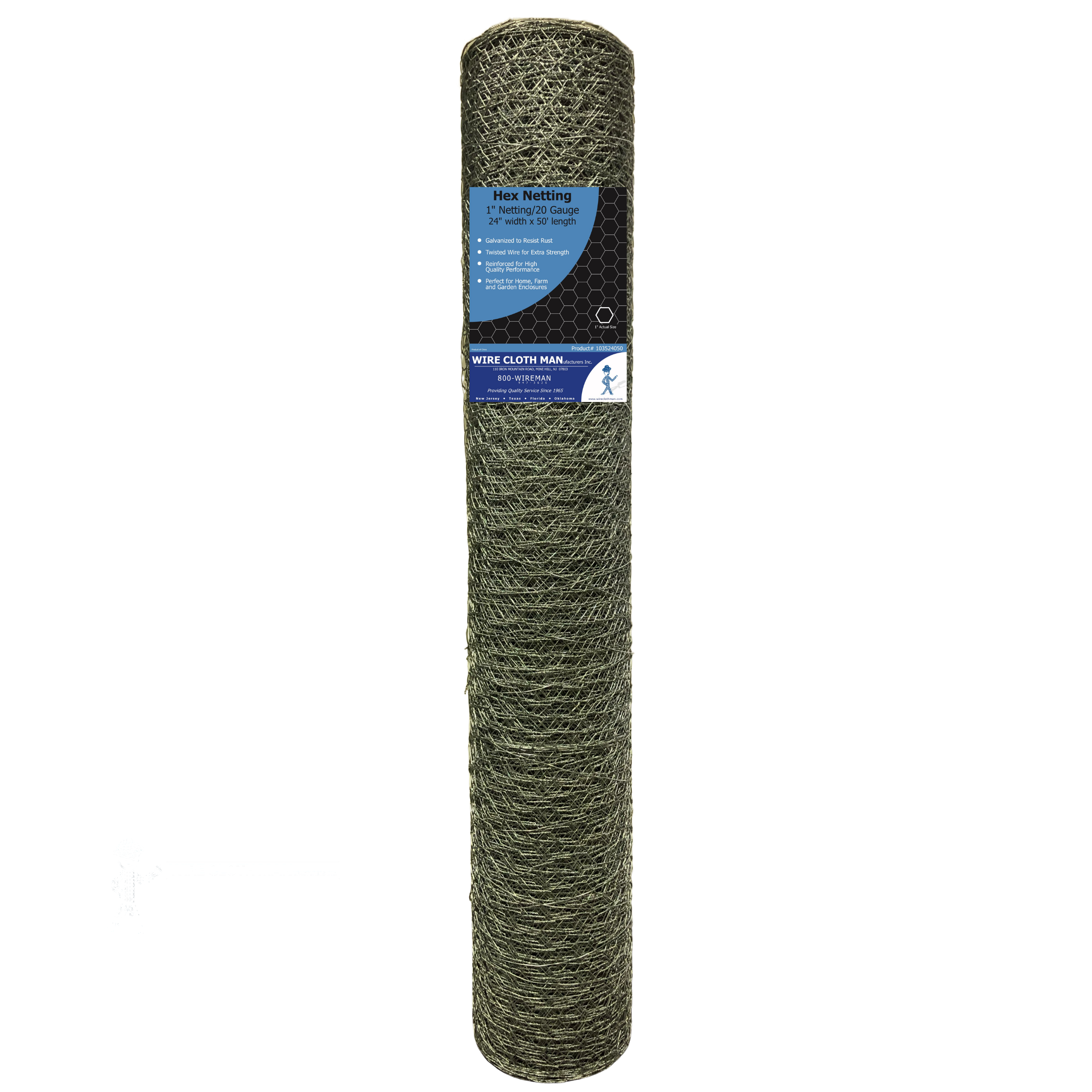 Hex Netting 24X50 Roll