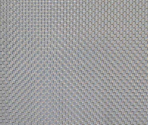 SQUARE PATTERN PLAIN WEAVE - 10 Mesh - White bg